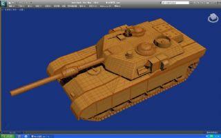M1A2坦max模型