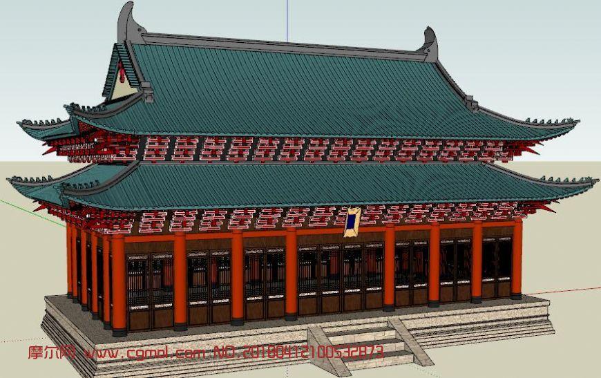 中国古代建筑,重檐歇山顶建筑