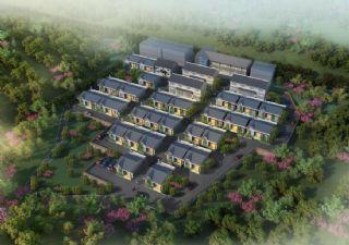红岩镇谢家村新农村方案设计