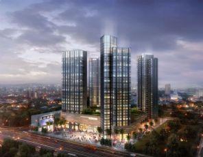 朝南-商住办公楼项目