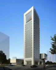 现代高层银行办公楼设计方案