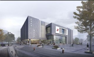 株洲中学生活动中心设计方案,无人物和绿植