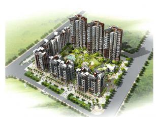 中海住宅小区项目,无贴图