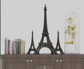 埃菲尔铁塔,书籍摆件