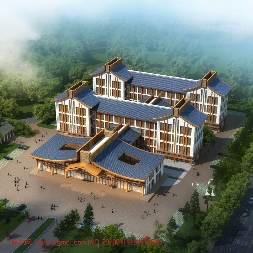 玉水医院整体设计