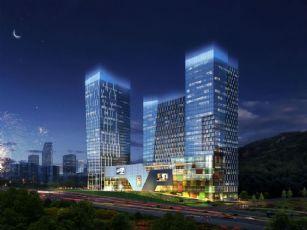 现代办公楼项目