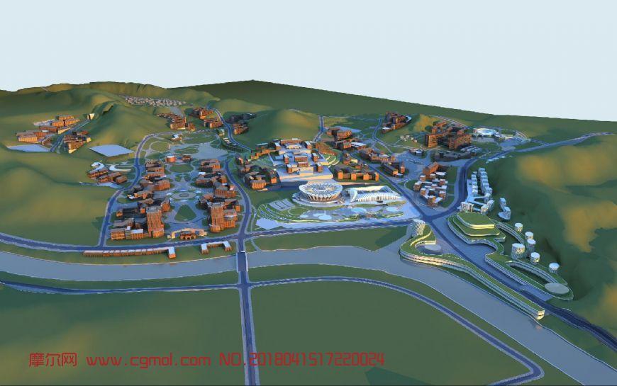 山区城市规划设计(网盘下载)