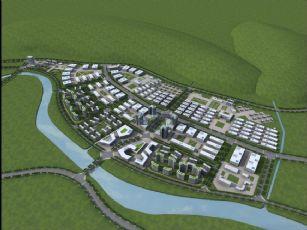 郊区工厂群规划设计模型(网盘下载)