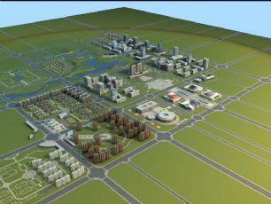 城市规划专用模型(网盘下载)
