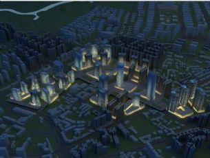 商业区,商业楼规划设计(网盘下载)