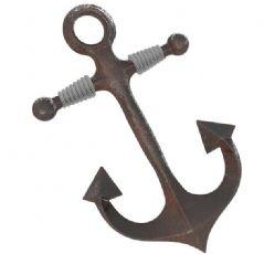 地中海装饰生锈船锚