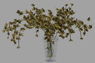 美式简约白色花瓶