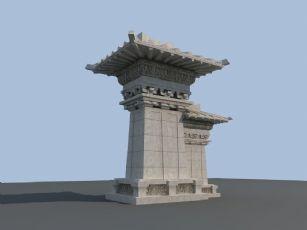 汉阙模型,博物馆用到的模型