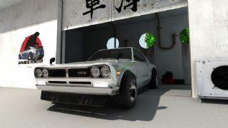 日产Skyline GT-R跑车