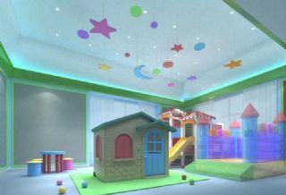 家庭室内儿童活动娱乐室