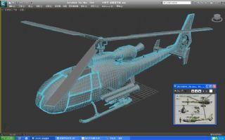 小羚羊武装直升机