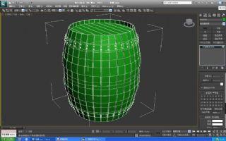 木桶max2011模型