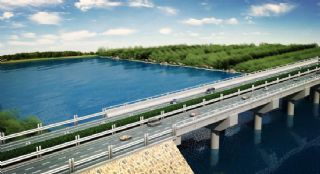 湖上高速公路,车流动画(百度网盘)