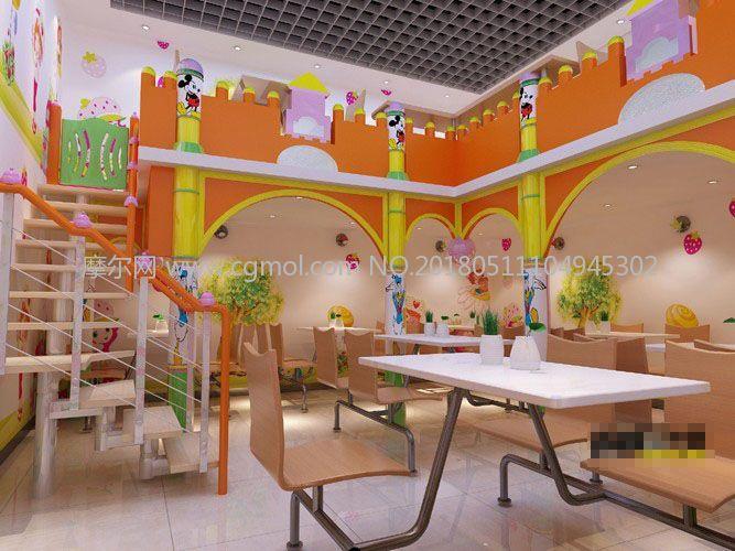 幼儿园餐厅