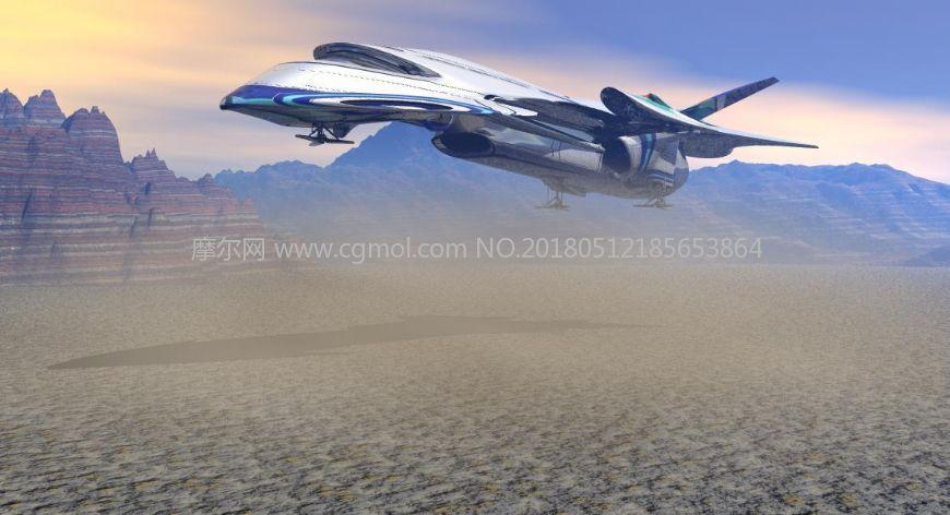 sd85货运飞船,科幻飞船,宇宙飞船,max,obj格式