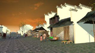 元大都城的市场,古代街头,集市max模型(网盘下载)