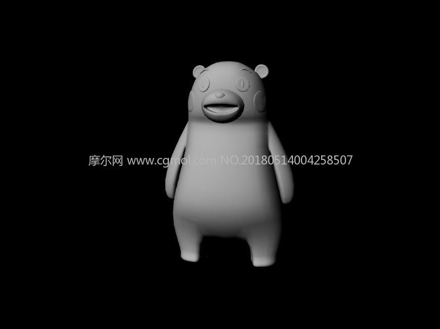 maya熊本熊模型