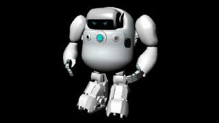卡通小机器人maya建模