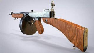 汤姆逊冲锋枪模型
