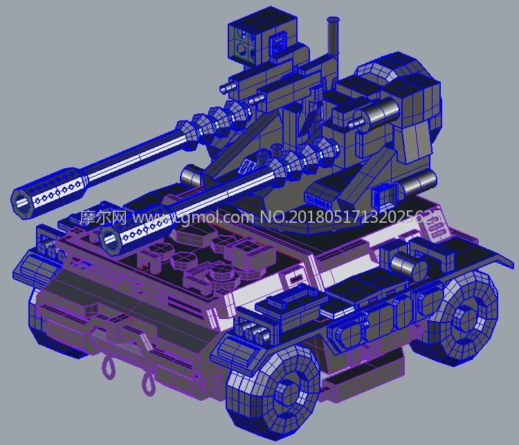 装甲车,双火炮