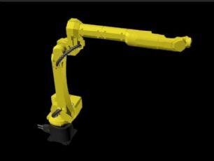 发那科六自由度机器人,海天电控柜焊接打磨模型