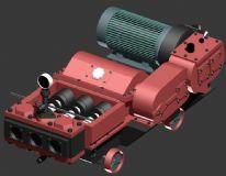 灌浆泵max模型