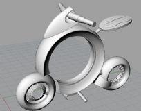 概念摩托车3dm模型