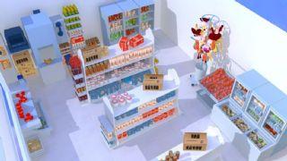 便民超市,便利店maya2009模型