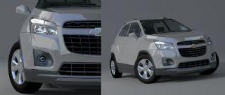 雪佛兰创酷汽车max模型