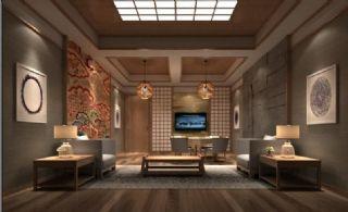 日系风格客餐厅