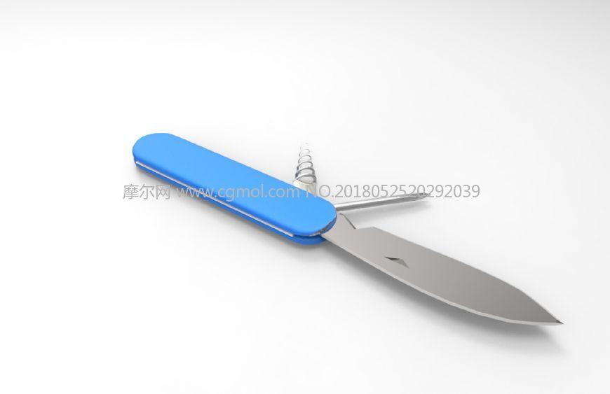 瑞士刀,军用刀