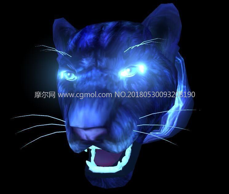 黑暗豹maya模型