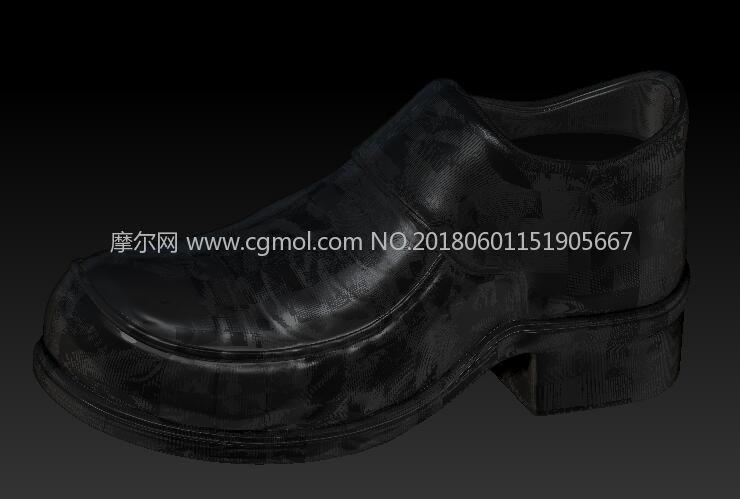皮鞋abrush模型(网盘下载)