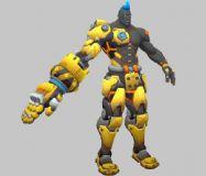 末日铁拳战士-守望先锋角色模型