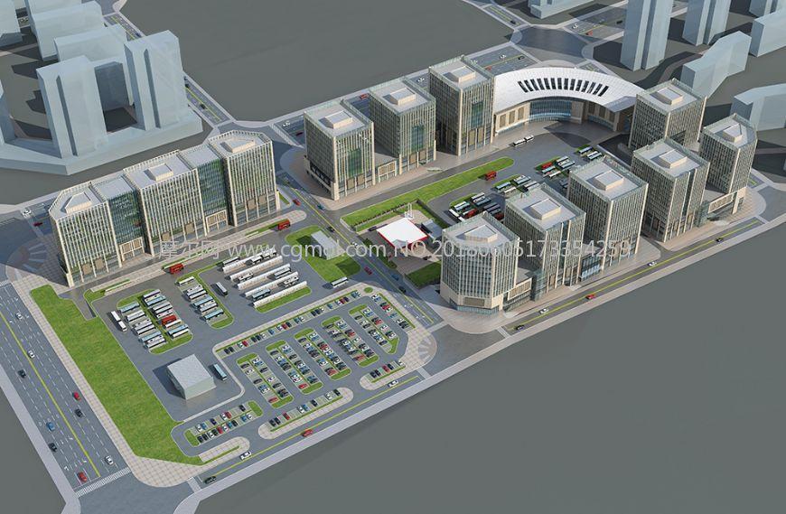 汽车客运站及周边配套建筑