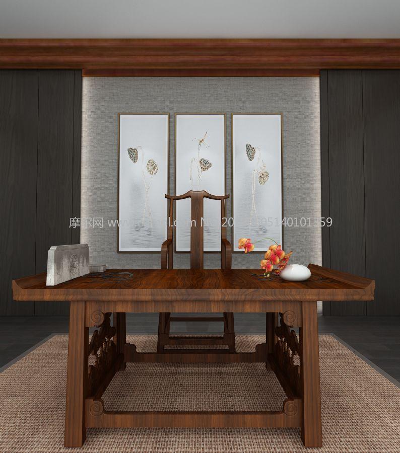 古木桌椅,茶桌,餐桌