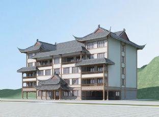中式农家乐小酒店