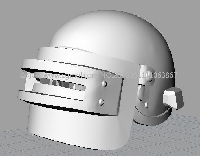 绝地求生3级头盔