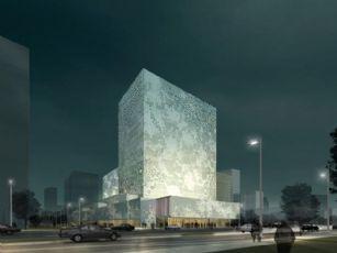 大厦商场建筑设计(网盘下载)