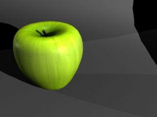 青苹果maya模型