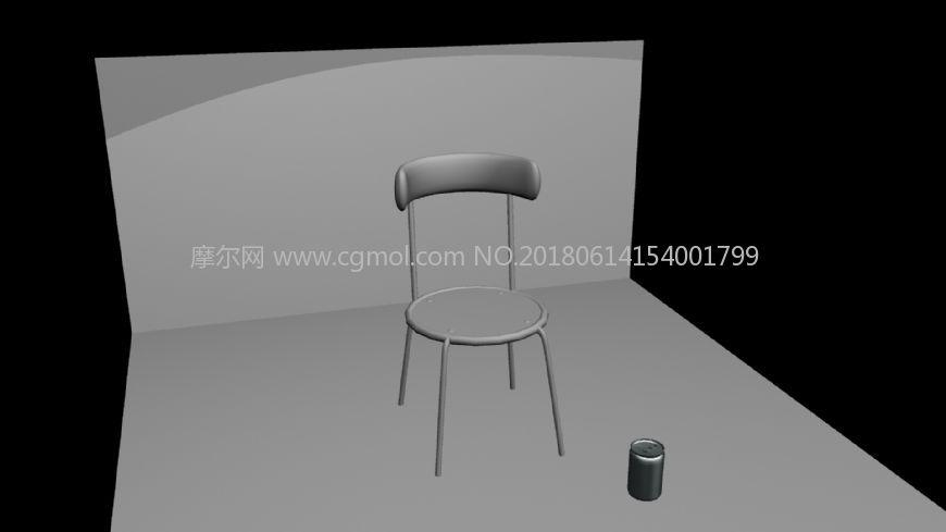 椅子和易拉罐练习作品