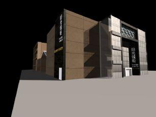 阳光钱柜KTV店铺外观设计
