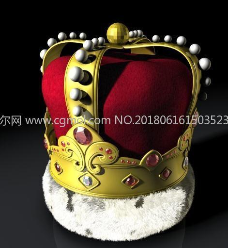 皇冠模型,含材质贴图