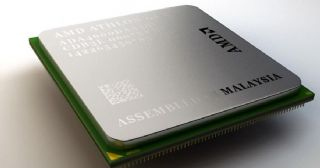 AMD CPU处理器模型,含材质贴图
