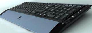 罗技键盘模型包含材质贴图